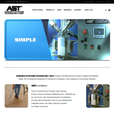 AST Corp: Simple E-Commerce
